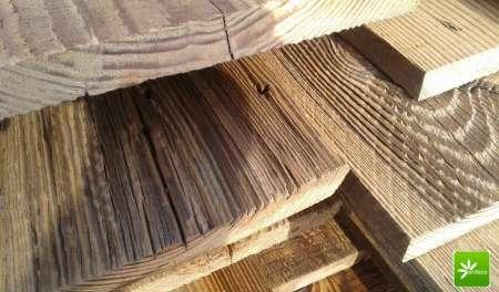 Photo ads/1319000/1319291/a1319291.jpg : Planche de bardage vieux bois pin